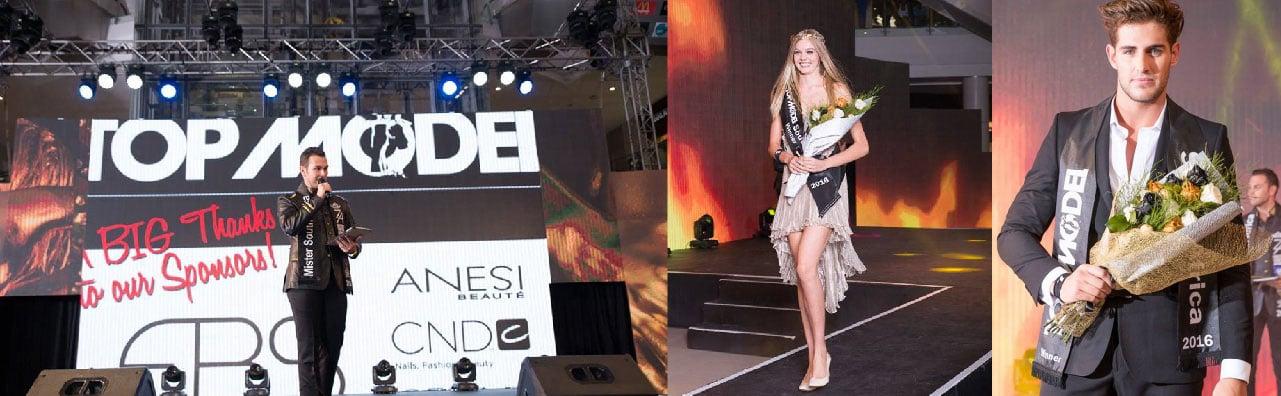 EBS sponsored the Top Model SA